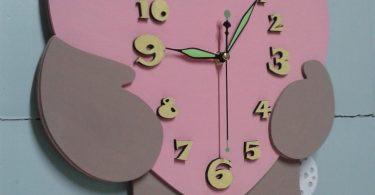 Clock cdr file corel draw file format wooden clock