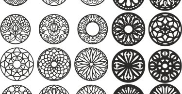 free cnc vector art design amp pattern files