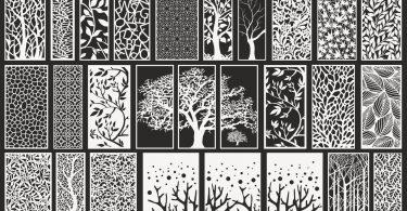 Best outdoor decorative screens eps format download