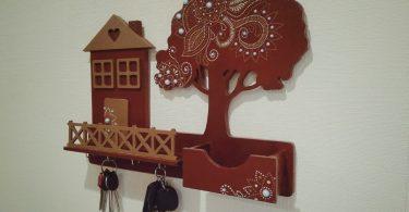 Decorative Key Holder For Wall Free Vectors laser cut designs