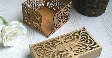 laser cut box patterns