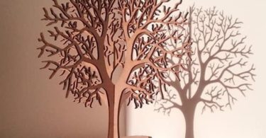 Tree of life laser cut vector file