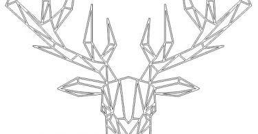 Deer free vector download DXF Files