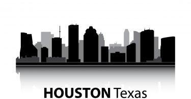 Houston Skyline Vector