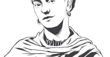 Frida kahlo vector
