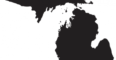michigan free vector