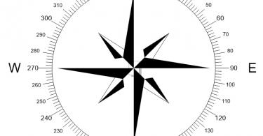 north arrow vector