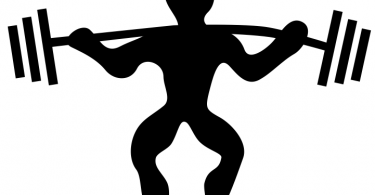 powerlifting black and white free vector