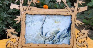 dragon photo frame