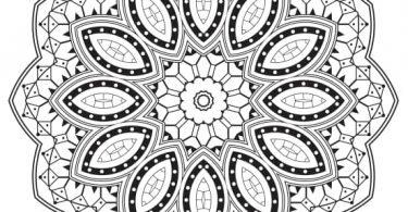 Mandala Design Free Vector cdr file format