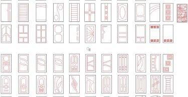 cnc jali design vector