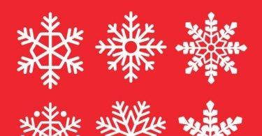 free vector snowflake