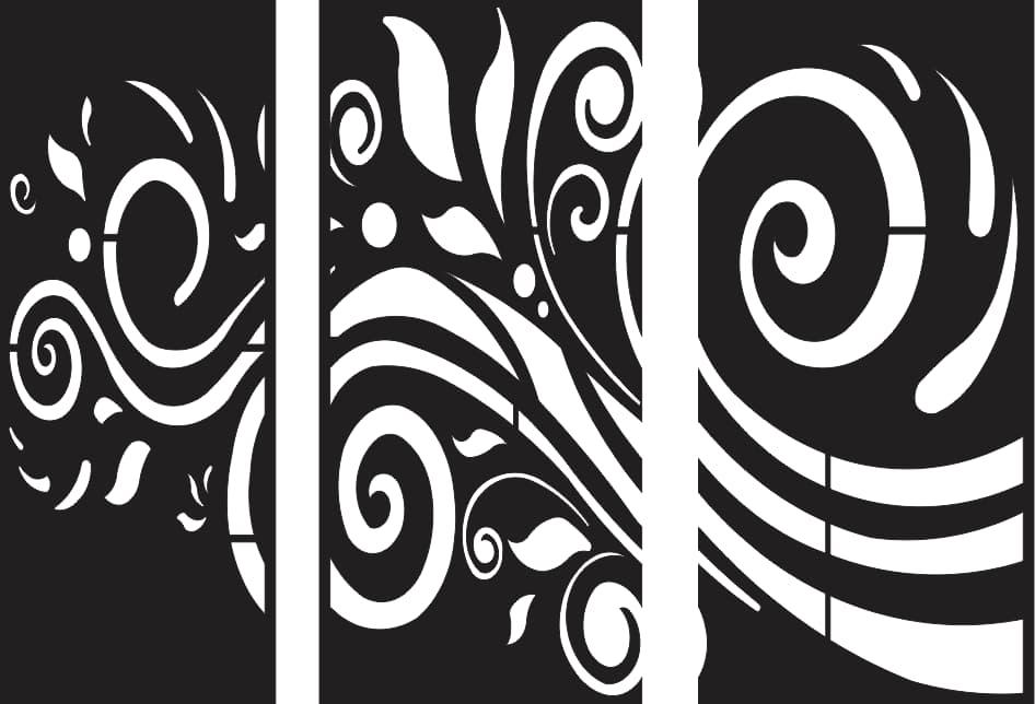 CNC DXF files free plasma cutter art patterns