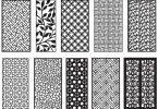 CNC Jali Cutting Pattern