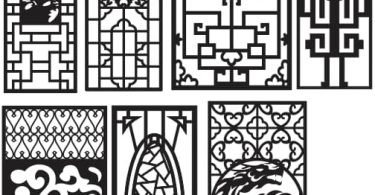 CNC Vector Art Patterns