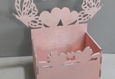 Laser Cut Box DXF