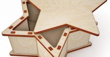 Laser Cut Wooden