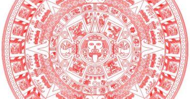 free vector Aztec Calendar