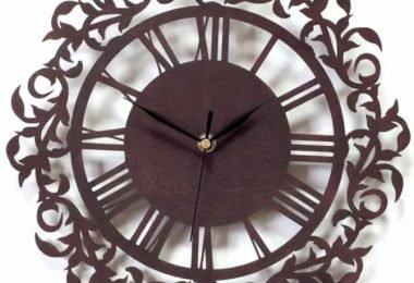 laser cut Clock Plans