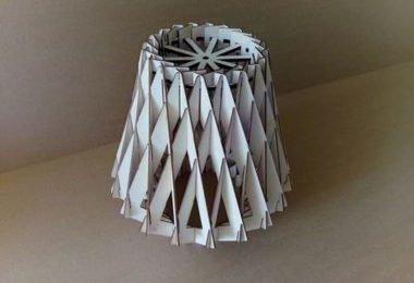 laser cut Lamp