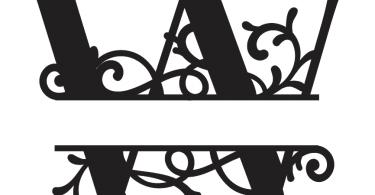 w Split Monogram