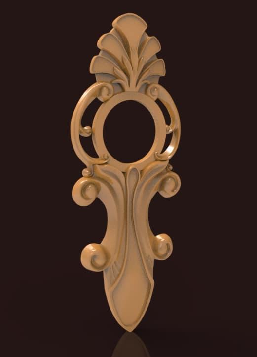 3d CNC Wood Carving