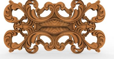 3d CNC wood carving patterns