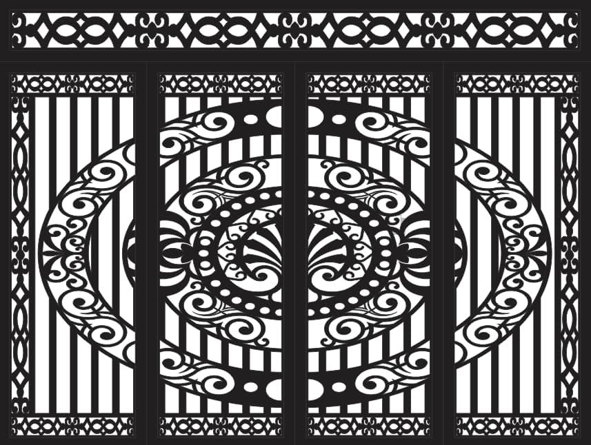 CNC Plasma Cut Pattern