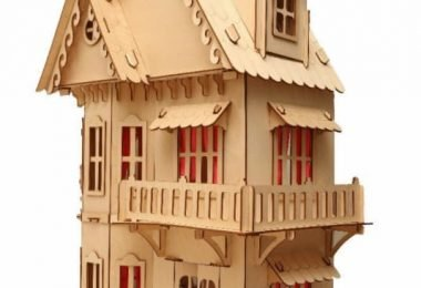 laser cut dollhouse plans