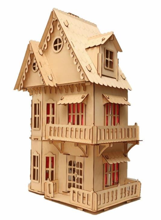 laser cut dollhouse plans