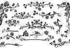 Free flower vector pattern