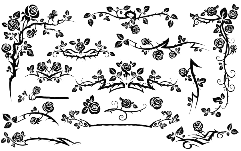 Free flower vector pattern