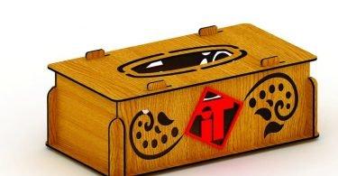 Wooden Box free Dxf files & vectors