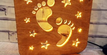 free laser cut files Home Decor Night Light Lamp