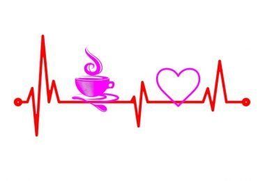 Laser Cut Coffee Cardio Wall Decor Free Vector
