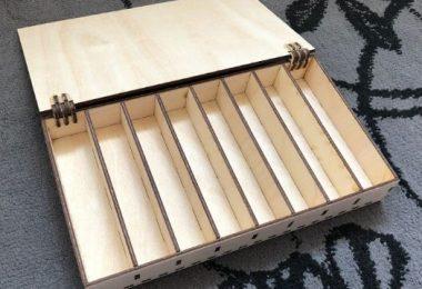 Laser Cut Box Template