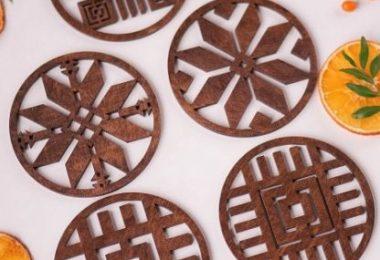 coaster design template